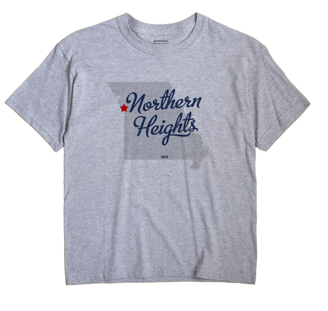 Northern Heights, Missouri MO Souvenir Shirt