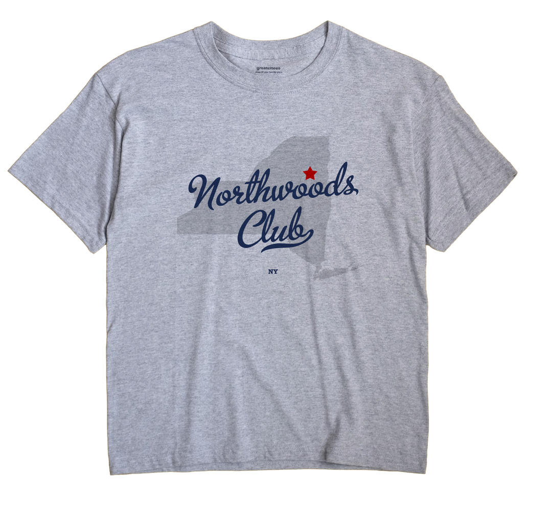 Northwoods Club, New York NY Souvenir Shirt