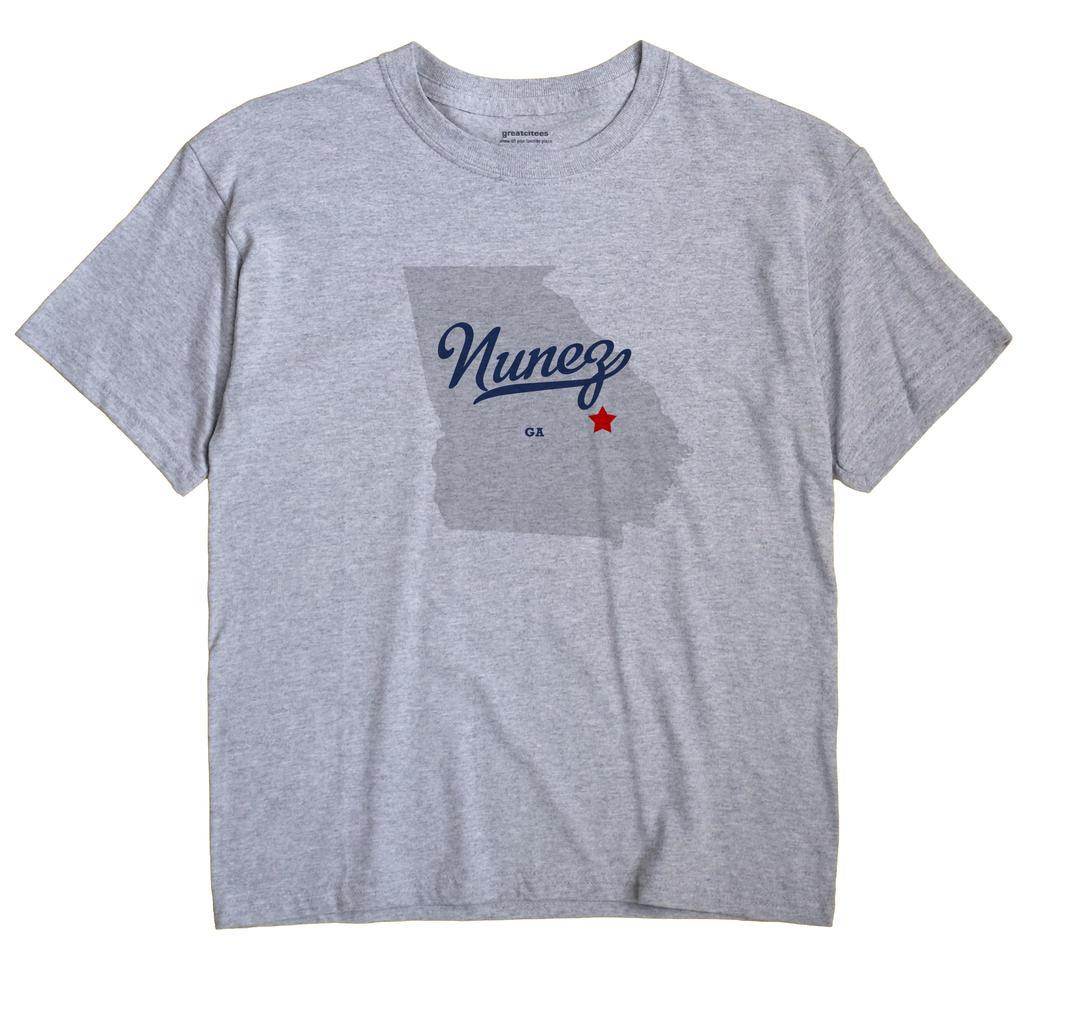 Nunez, Georgia GA Souvenir Shirt
