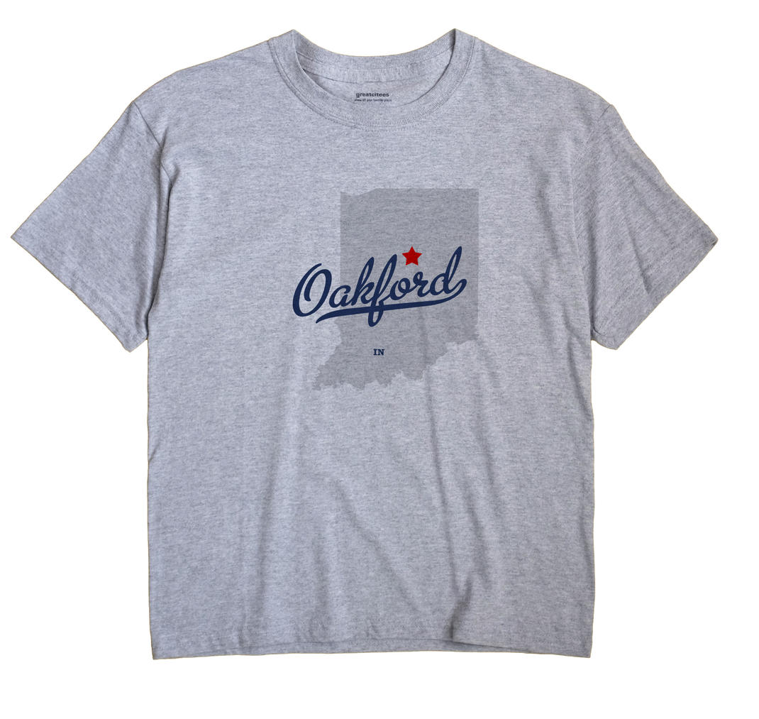 Oakford, Indiana IN Souvenir Shirt