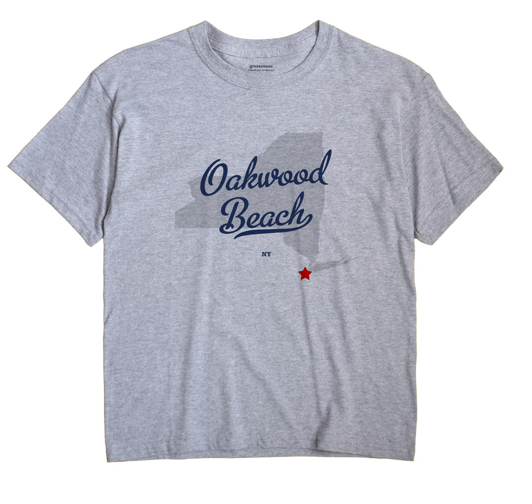 Oakwood Beach, New York NY Souvenir Shirt