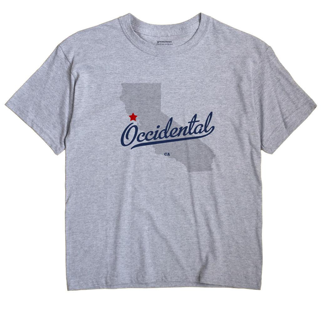 Occidental, California CA Souvenir Shirt