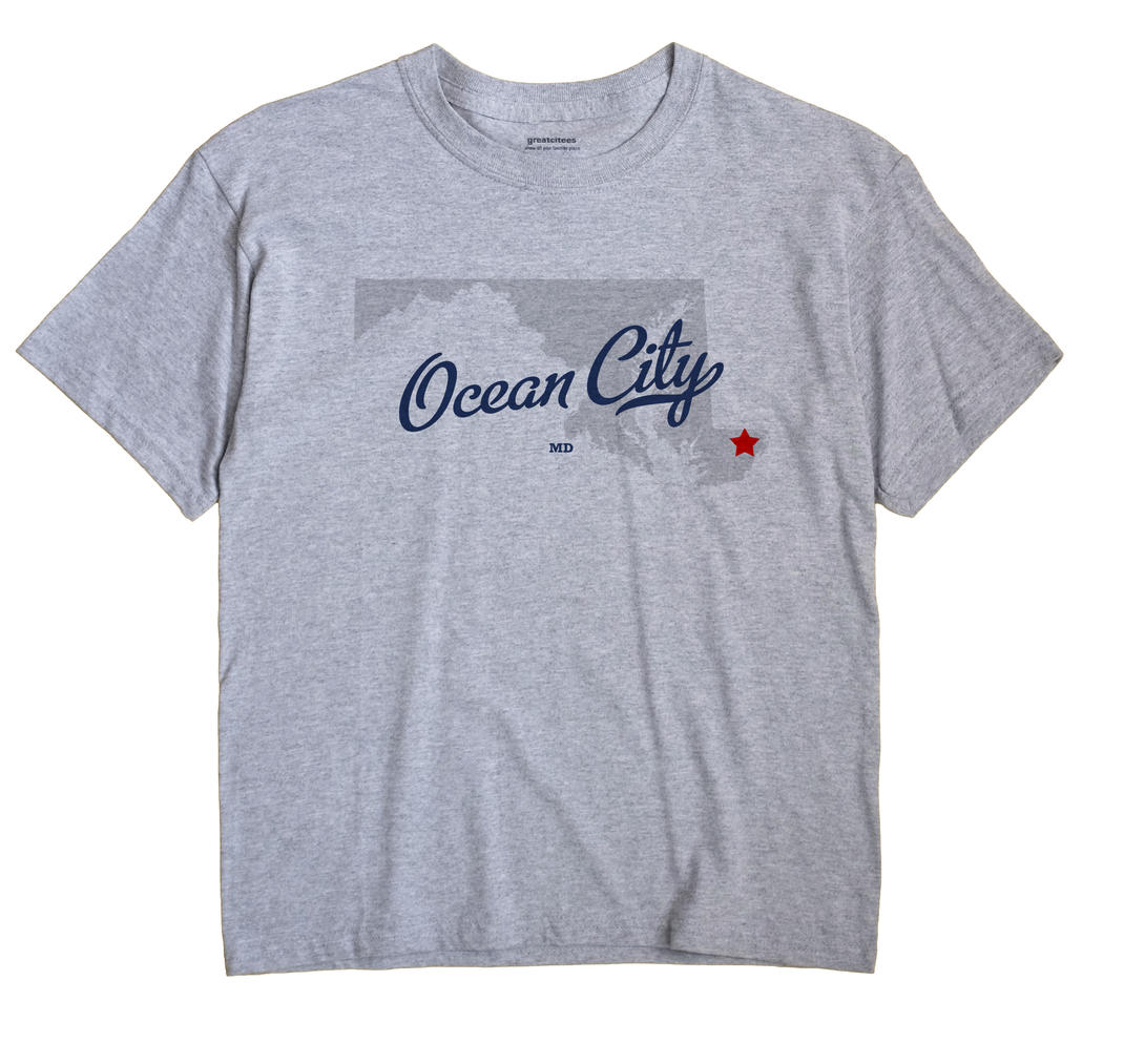 Ocean City, Maryland MD Souvenir Shirt