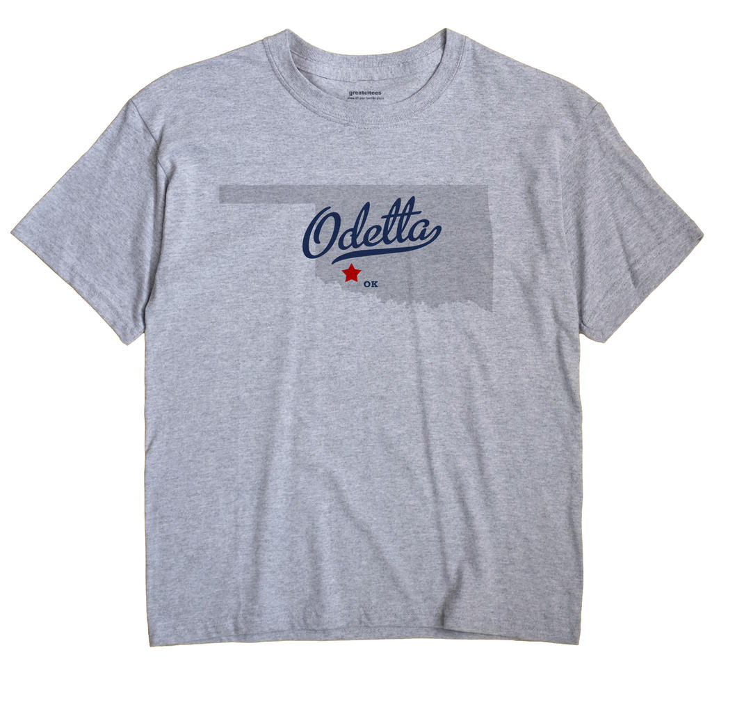 Odetta, Oklahoma OK Souvenir Shirt