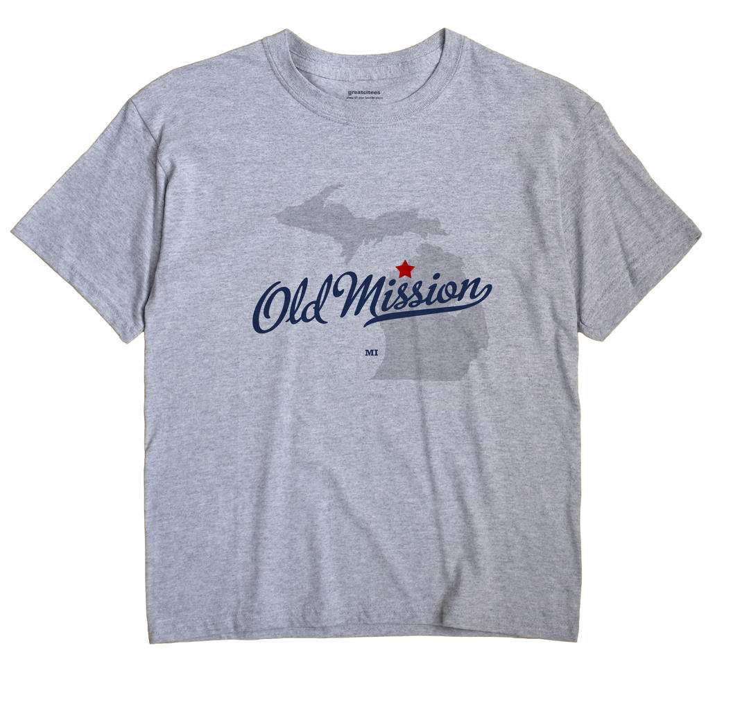 Old Mission, Michigan MI Souvenir Shirt