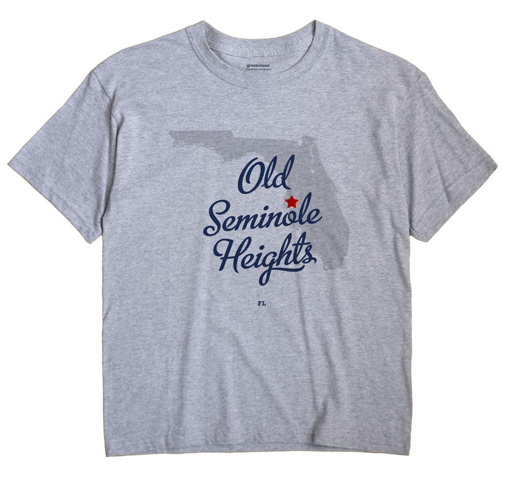 Old Seminole Heights, Florida FL Souvenir Shirt