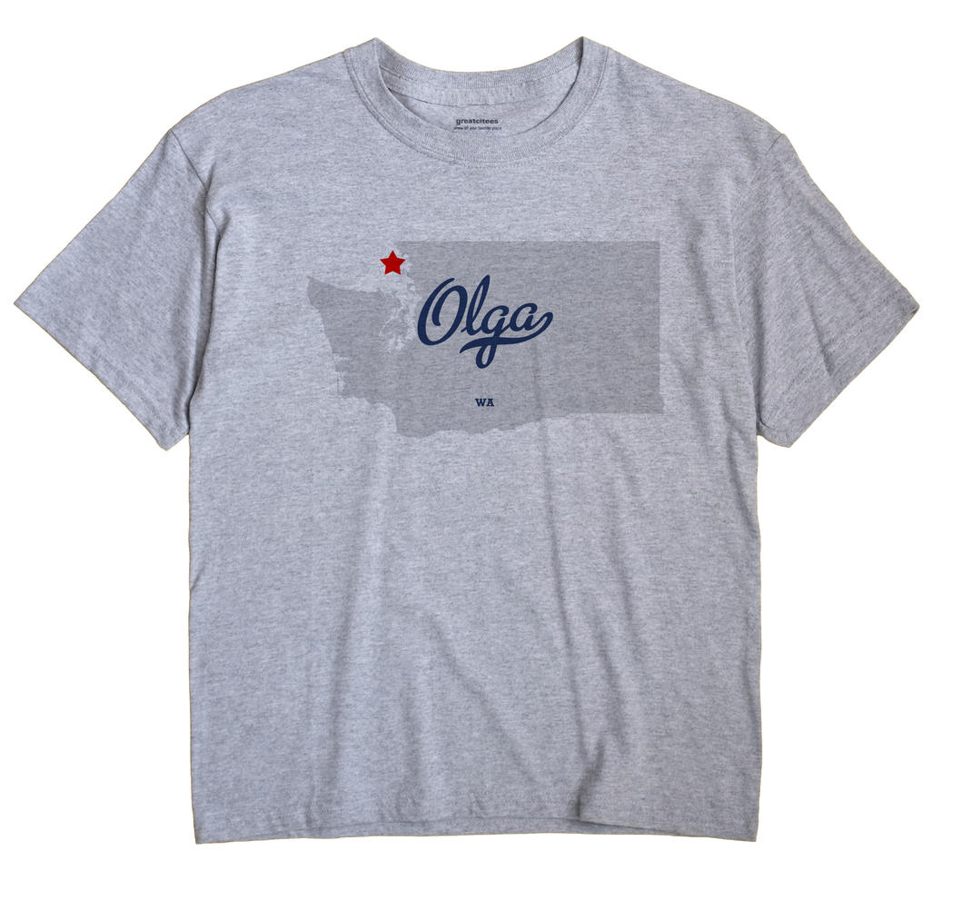 Olga, Washington WA Souvenir Shirt
