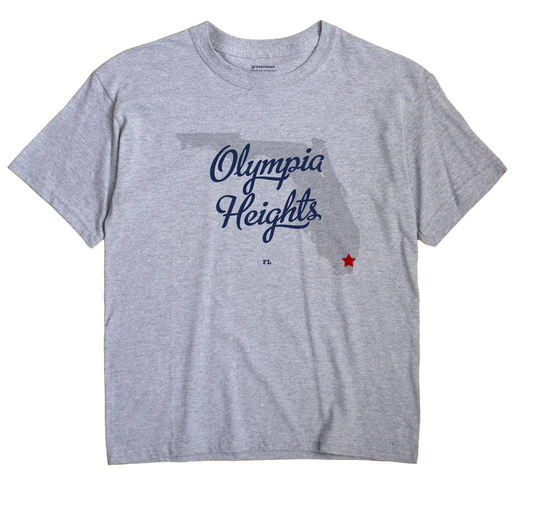 Olympia Heights, Florida FL Souvenir Shirt