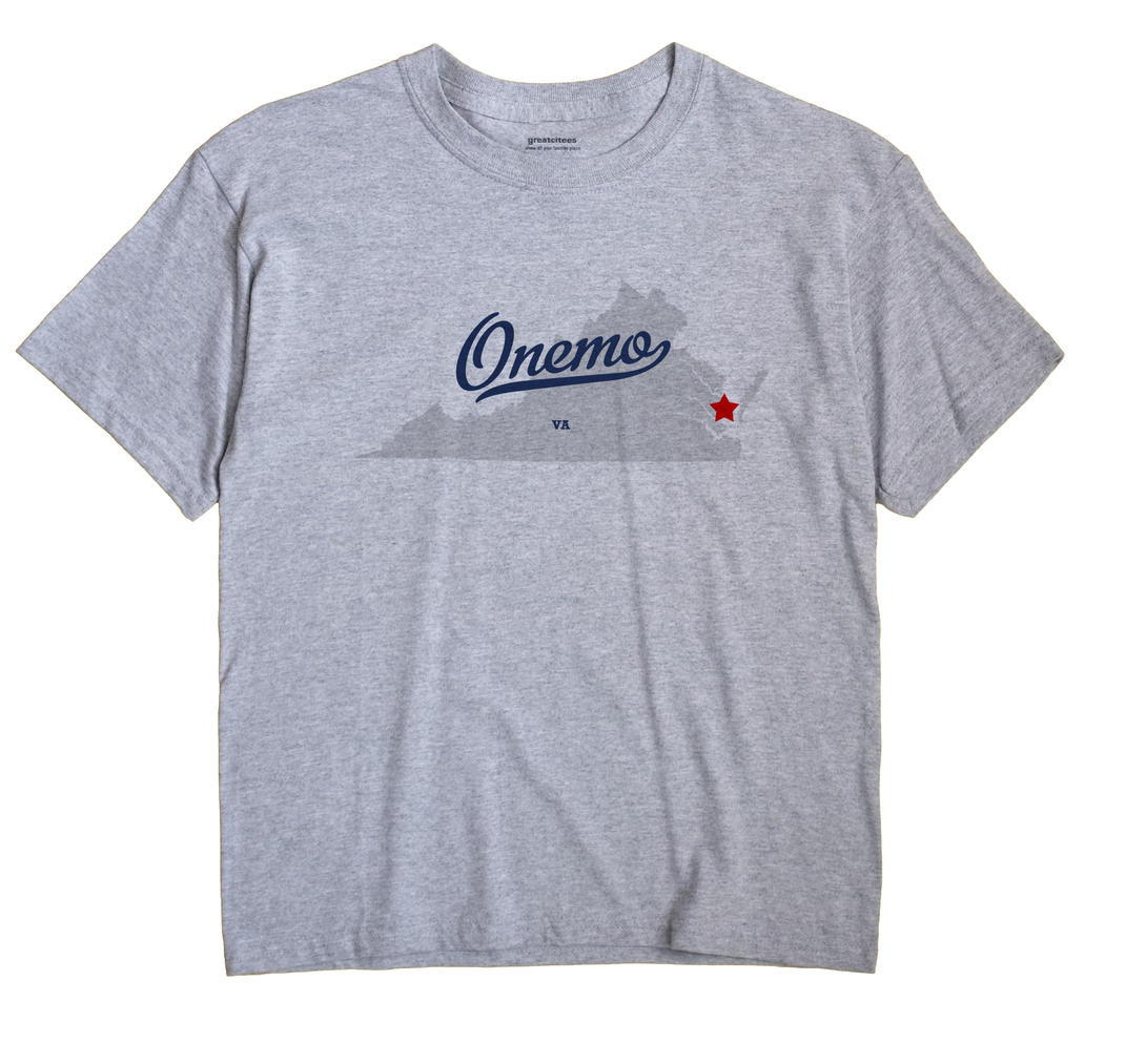 Onemo, Virginia VA Souvenir Shirt