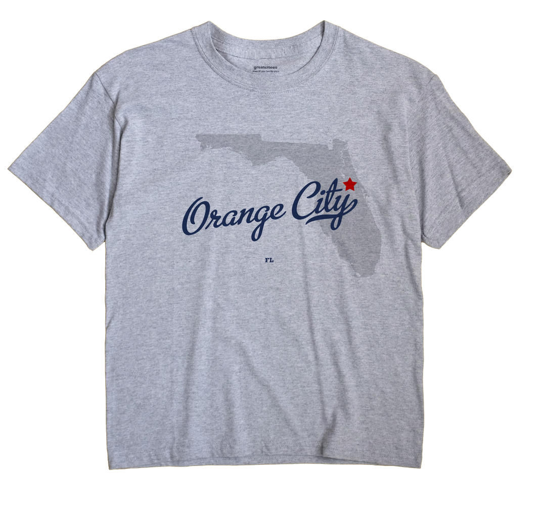 Orange City, Florida FL Souvenir Shirt