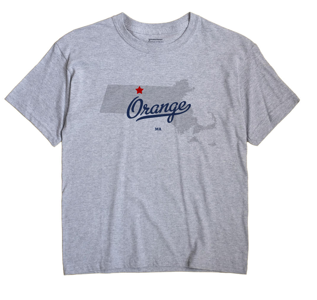 Orange, Massachusetts MA Souvenir Shirt