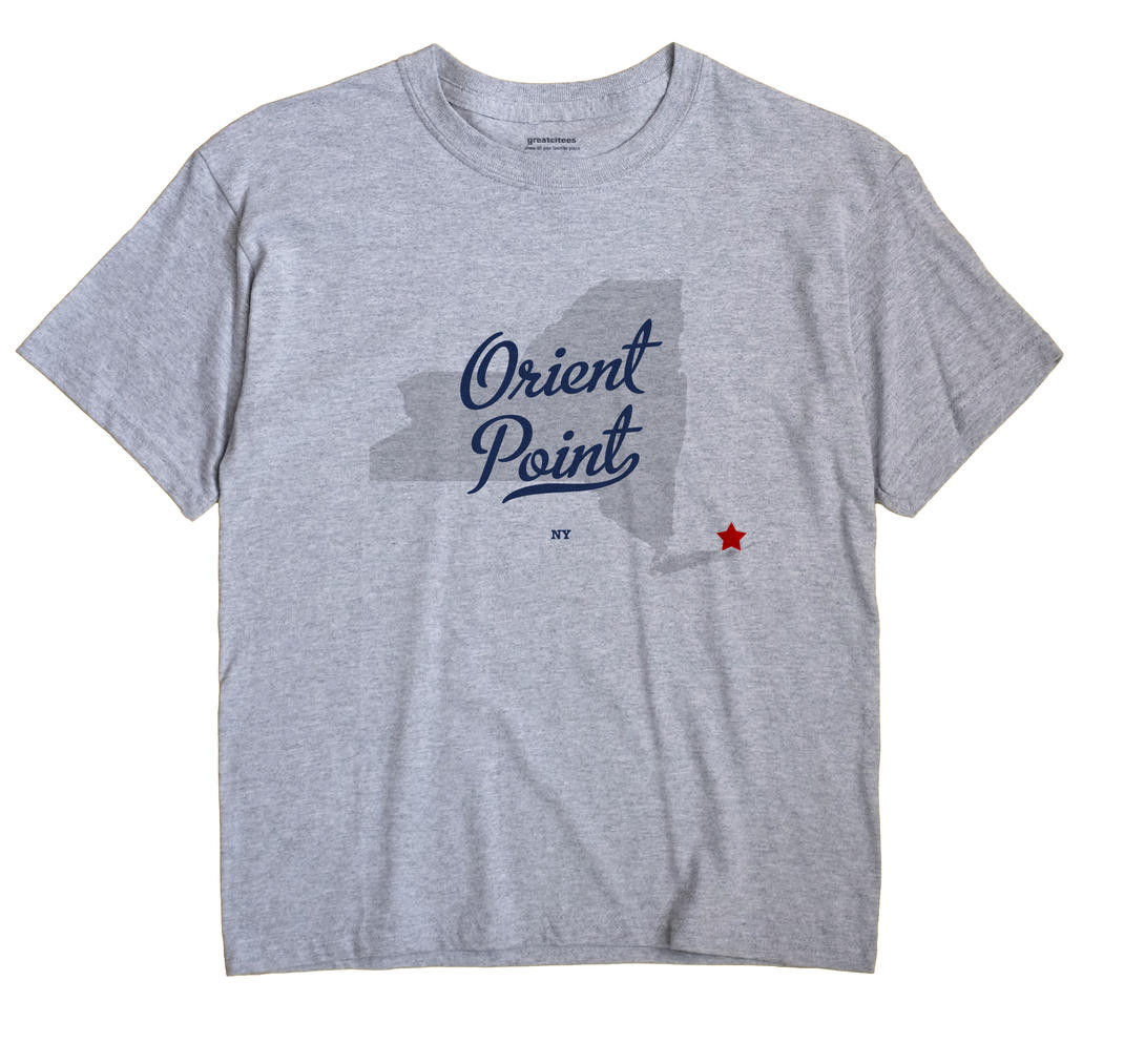 Orient Point, New York NY Souvenir Shirt