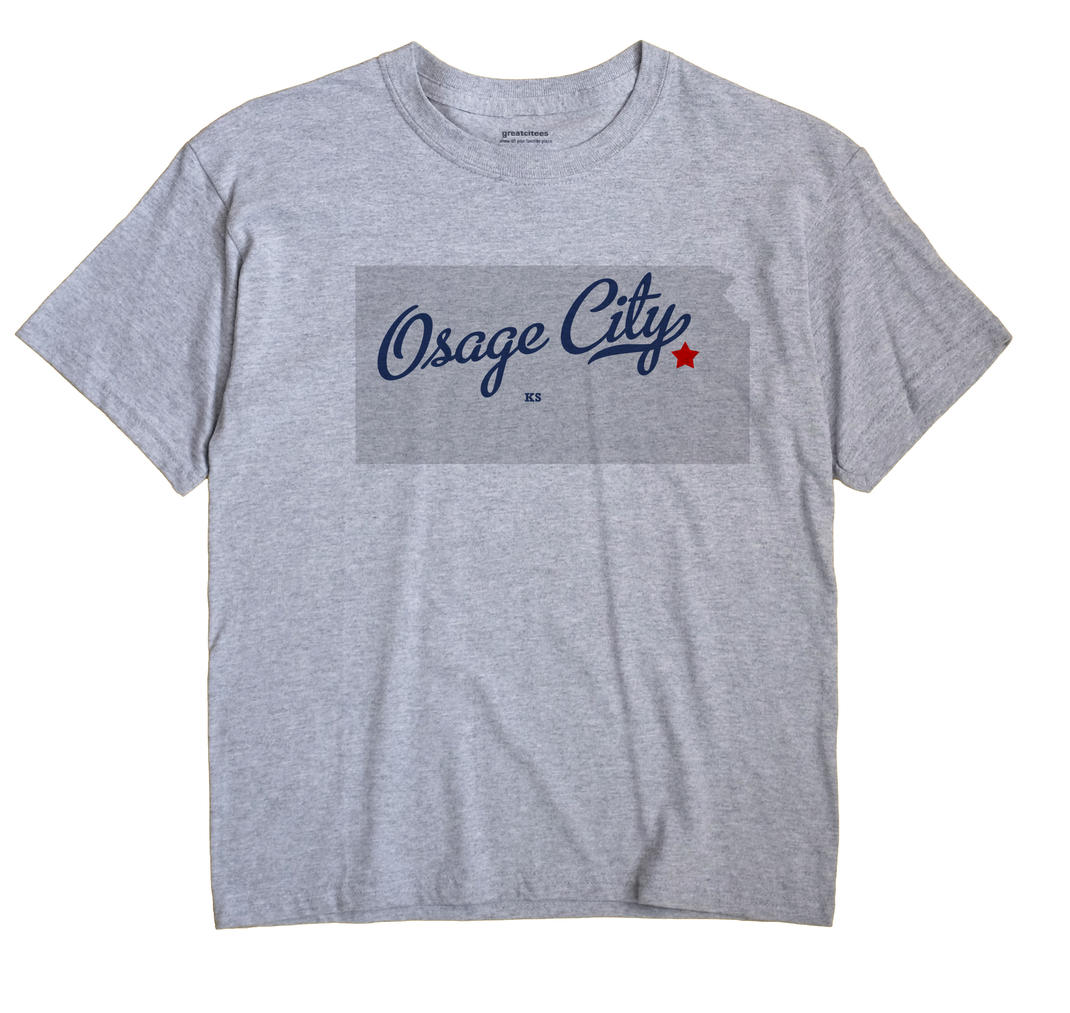 Osage City, Kansas KS Souvenir Shirt