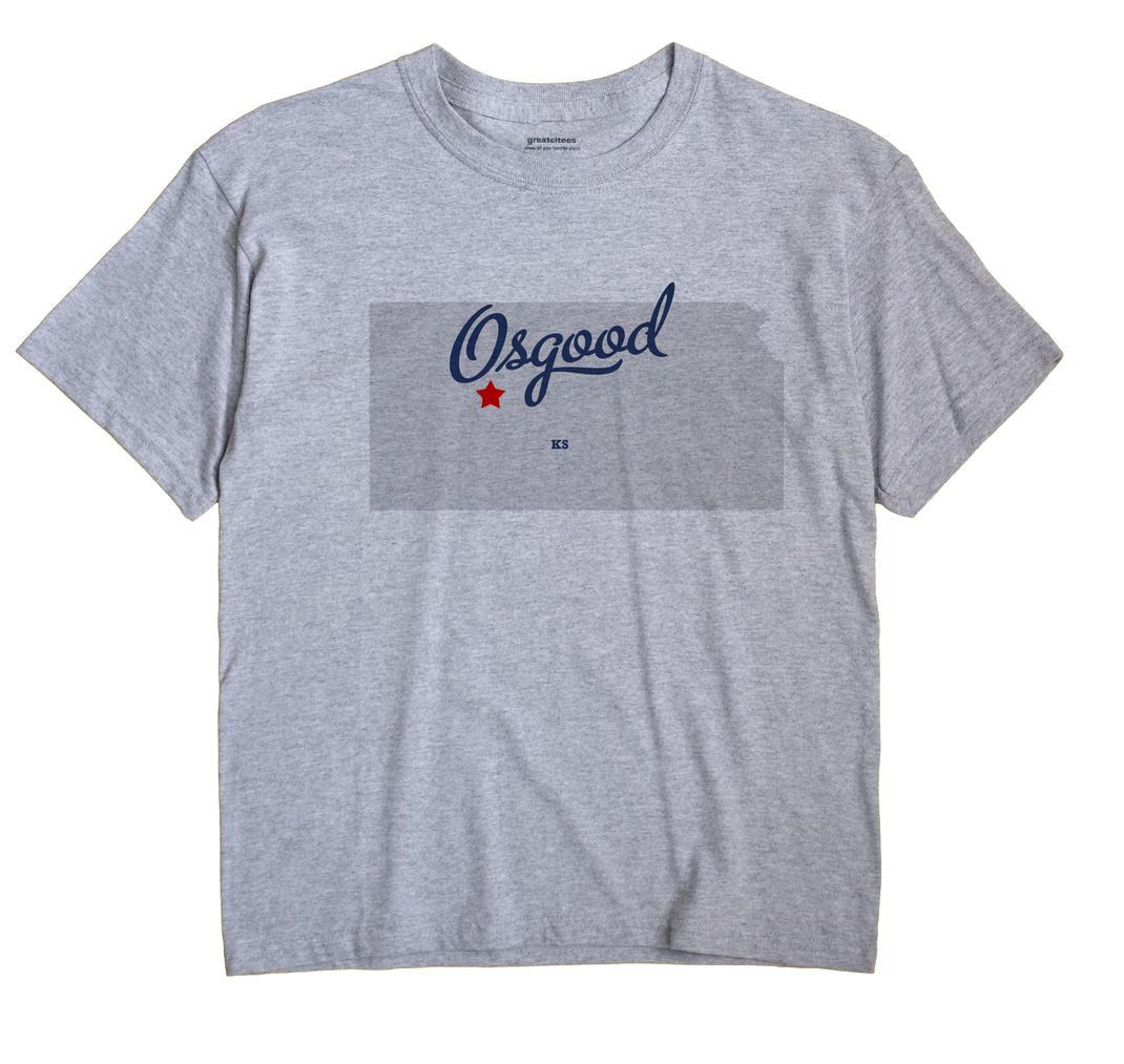 Osgood, Kansas KS Souvenir Shirt