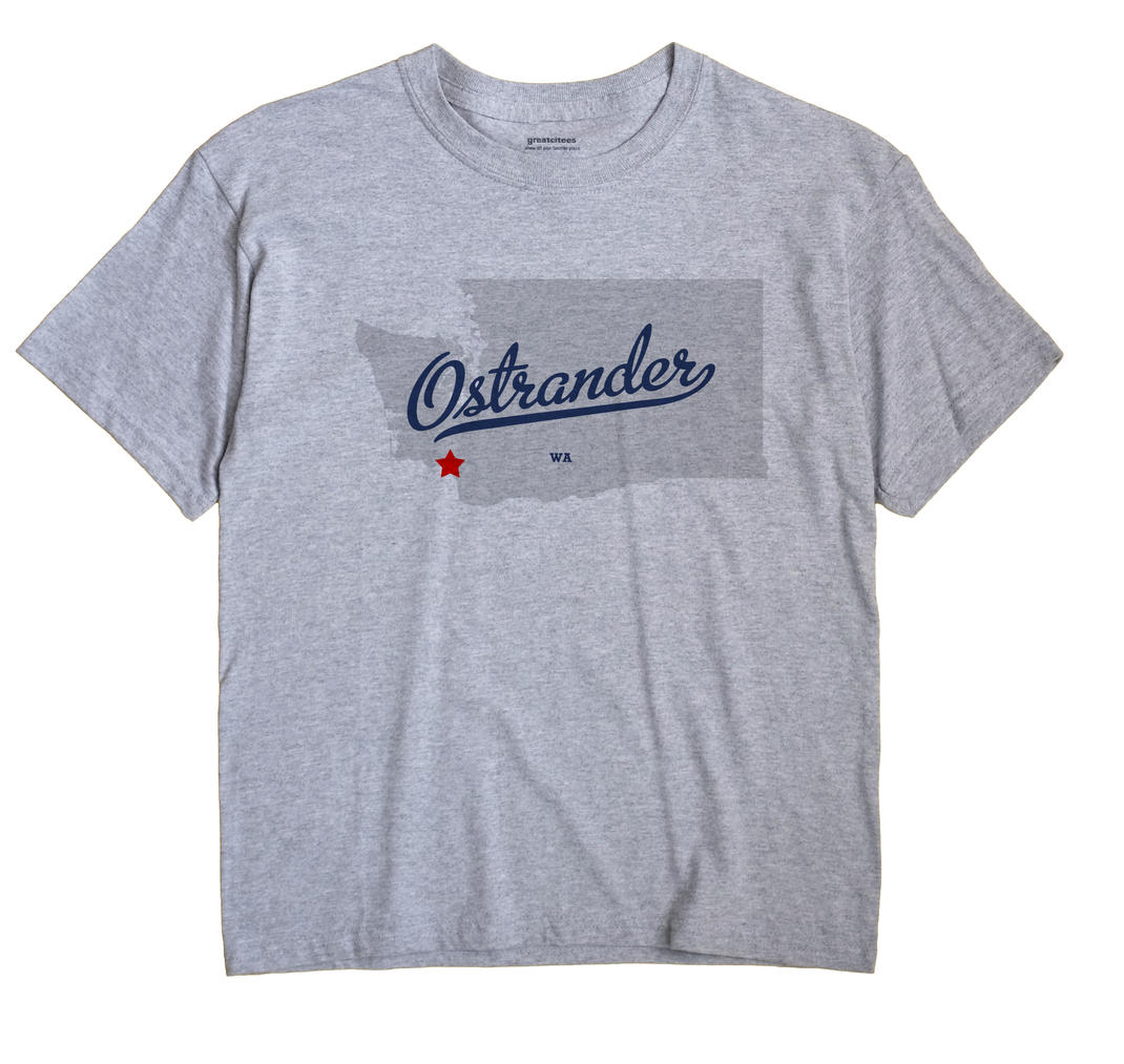 Ostrander, Washington WA Souvenir Shirt