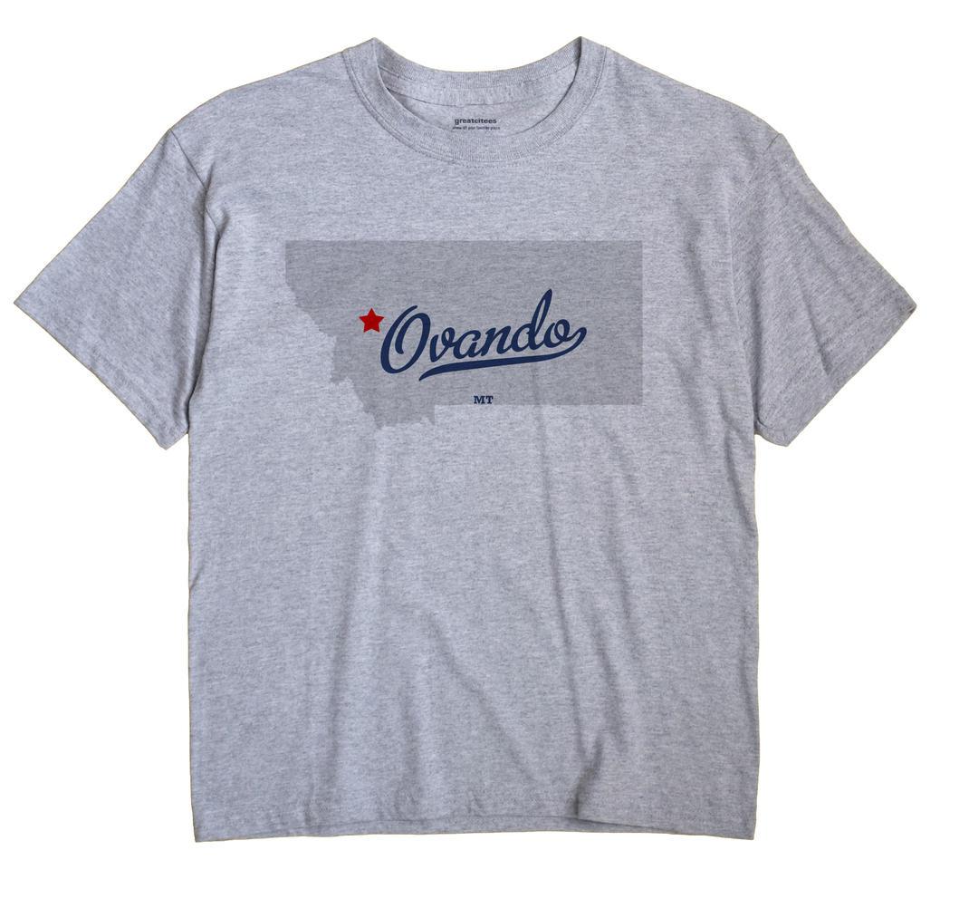 Ovando, Montana MT Souvenir Shirt