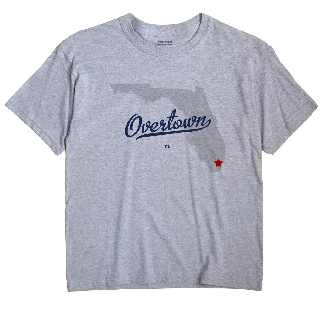 Overtown, Florida FL Souvenir Shirt