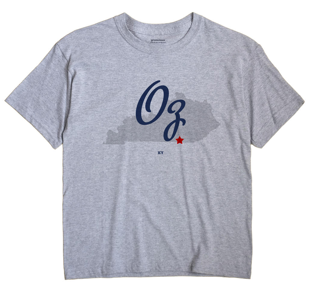 Oz, Kentucky KY Souvenir Shirt