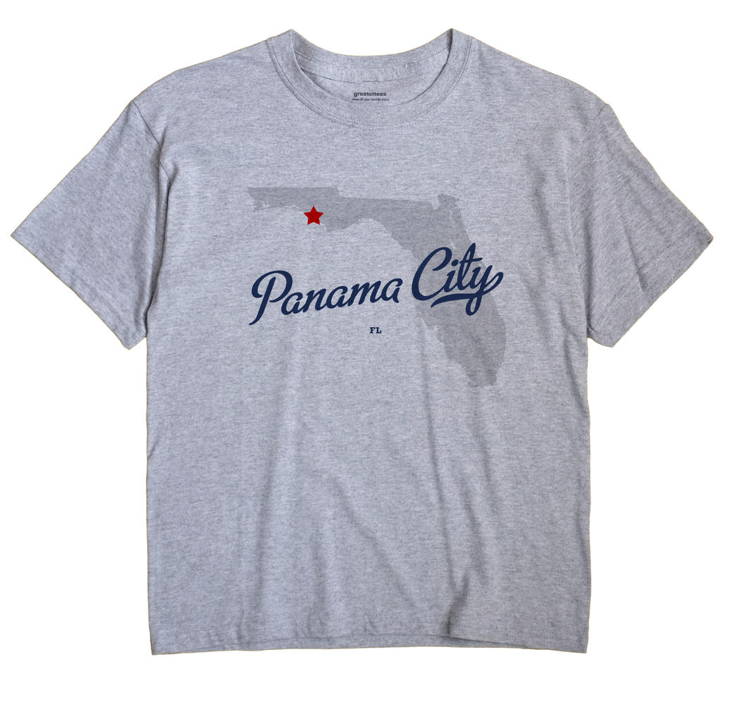 Panama City, Florida FL Souvenir Shirt