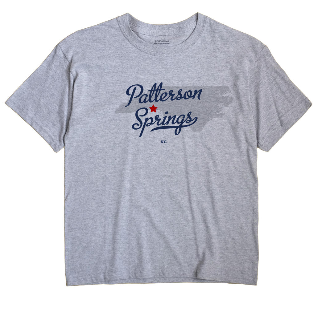 Patterson Springs, North Carolina NC Souvenir Shirt