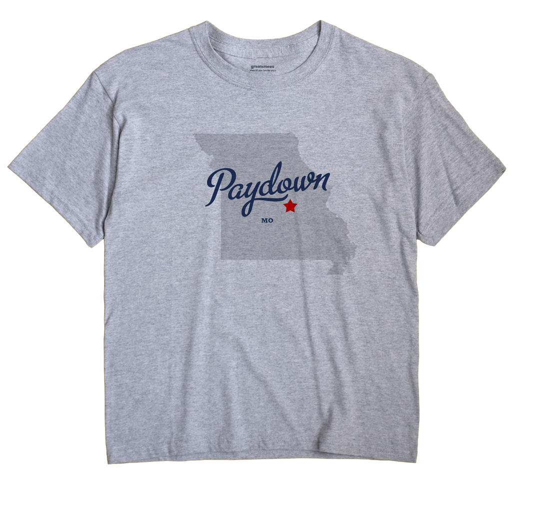 Paydown, Missouri MO Souvenir Shirt