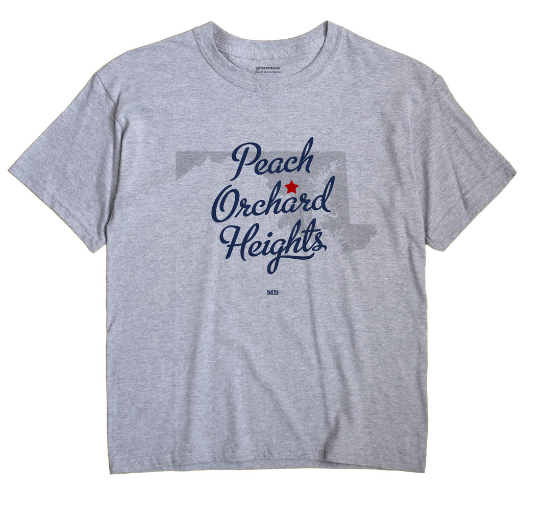 Peach Orchard Heights, Maryland MD Souvenir Shirt