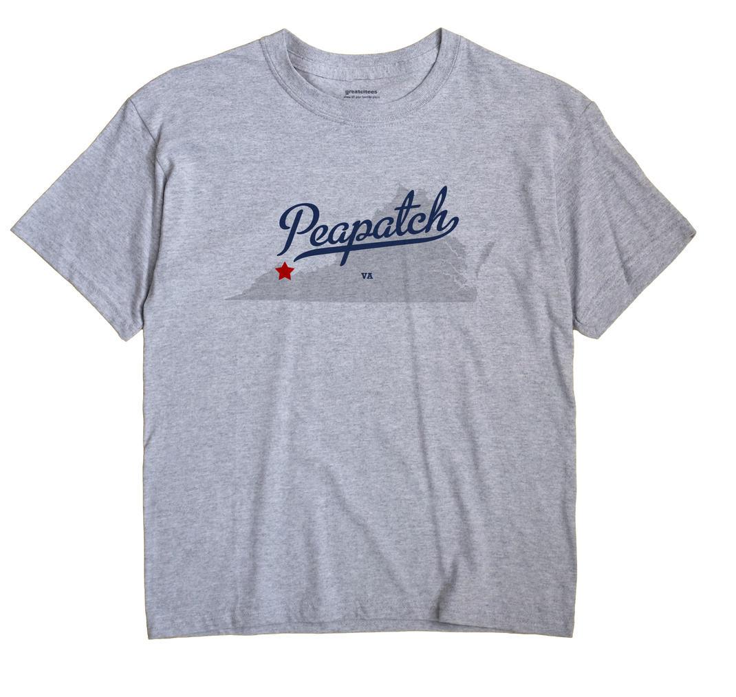 Peapatch, Virginia VA Souvenir Shirt