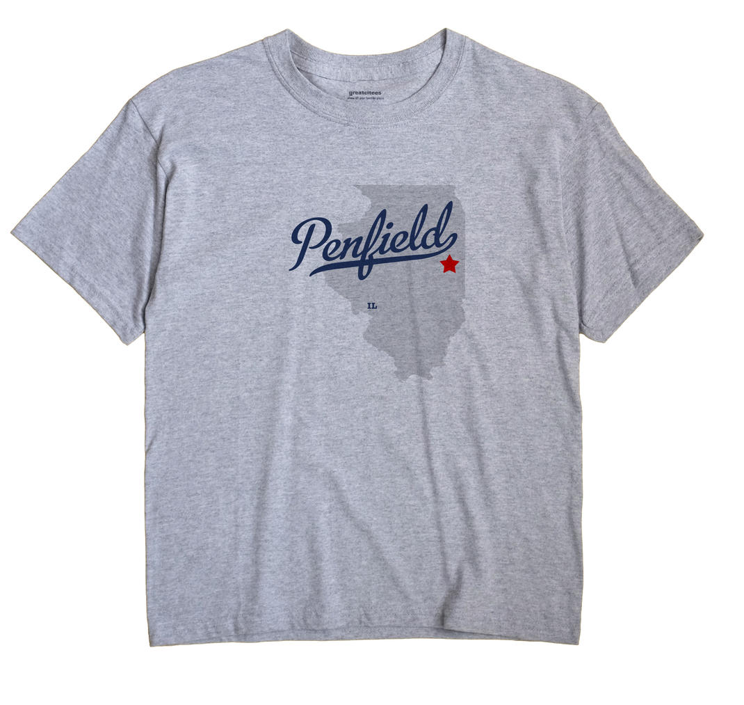 Penfield, Illinois IL Souvenir Shirt