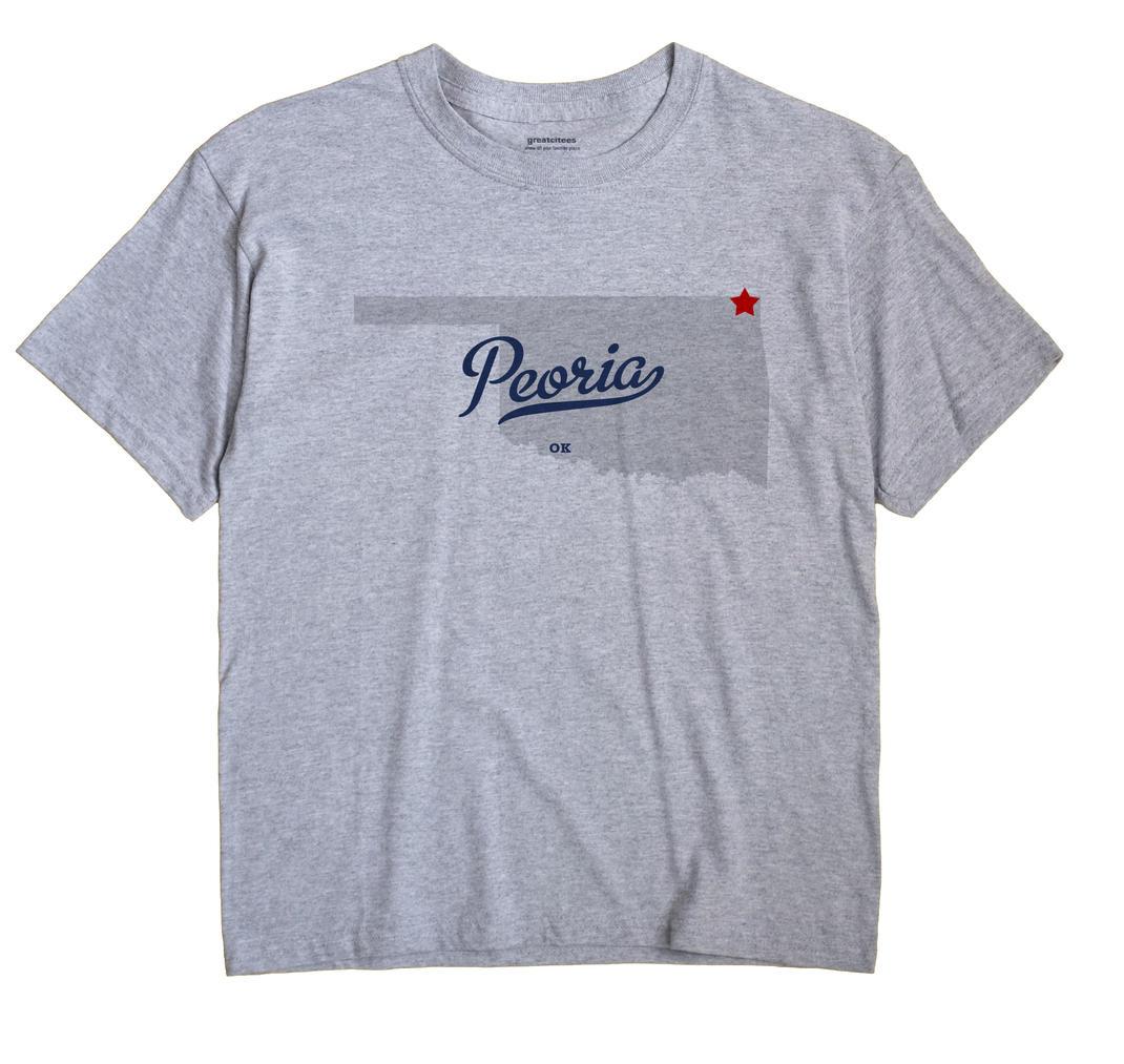 Peoria, Oklahoma OK Souvenir Shirt