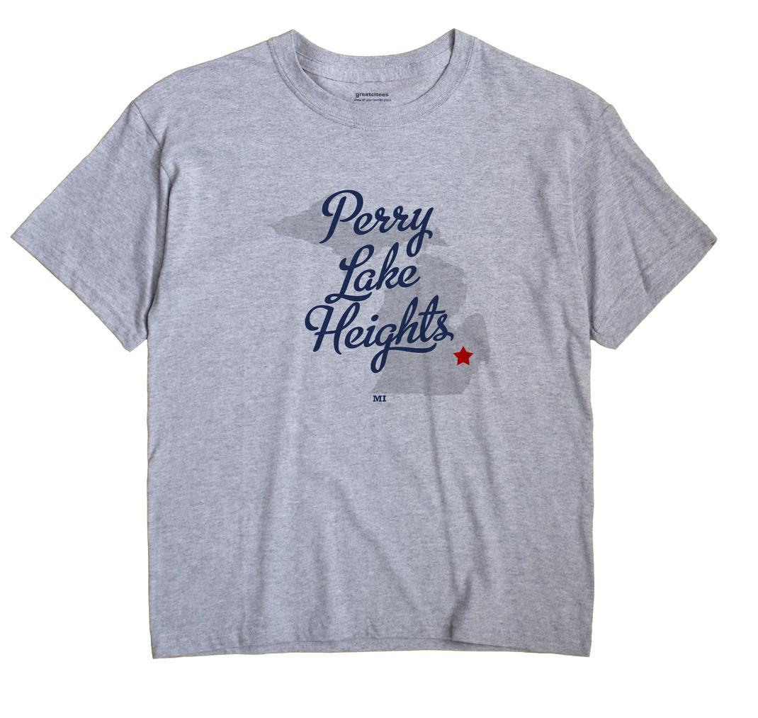Perry Lake Heights, Michigan MI Souvenir Shirt