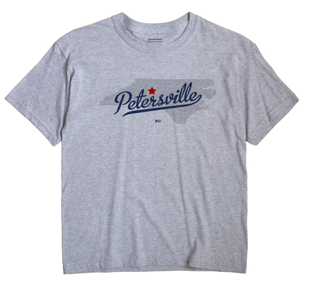 Petersville, North Carolina NC Souvenir Shirt