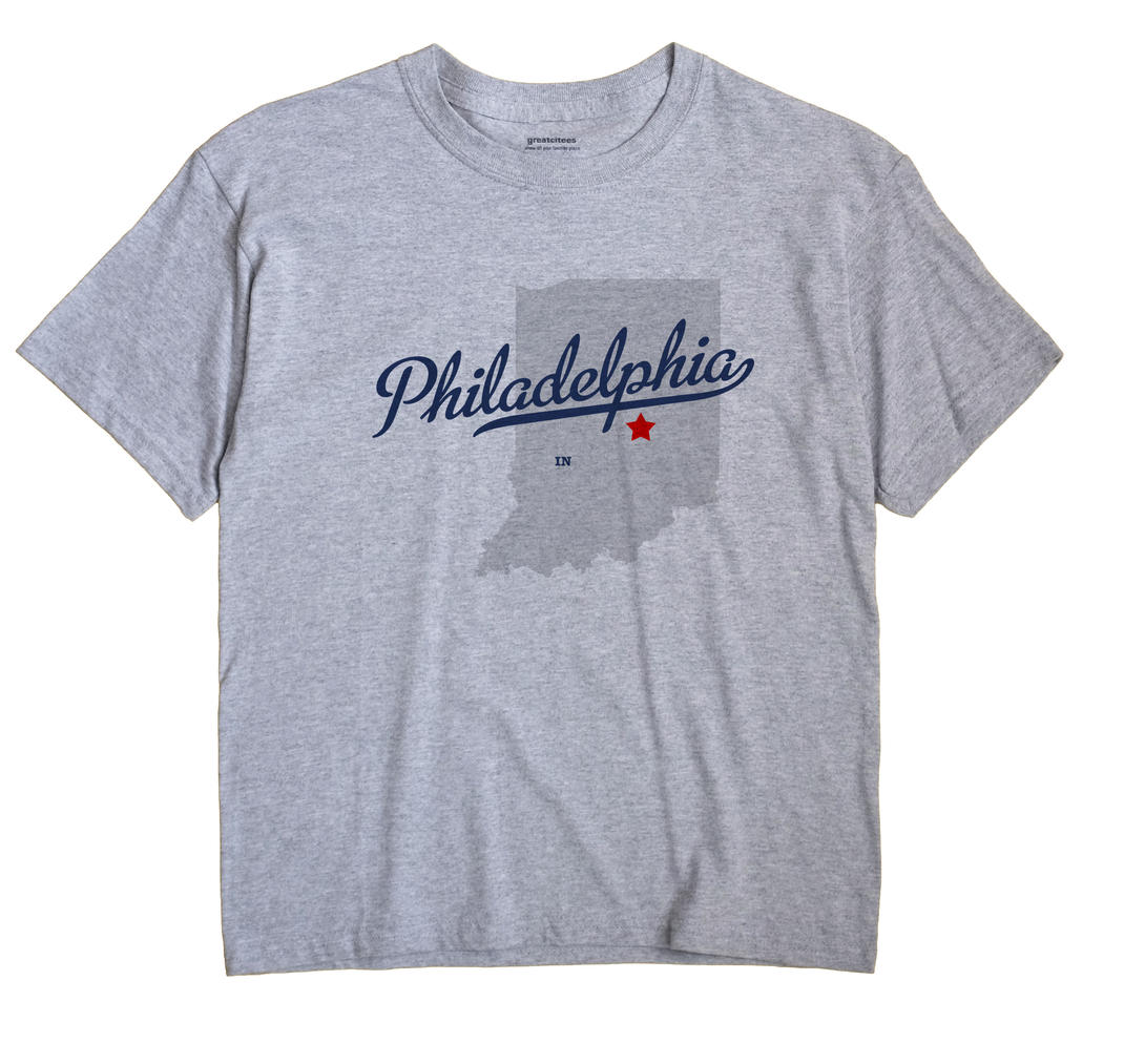 Philadelphia, Indiana IN Souvenir Shirt