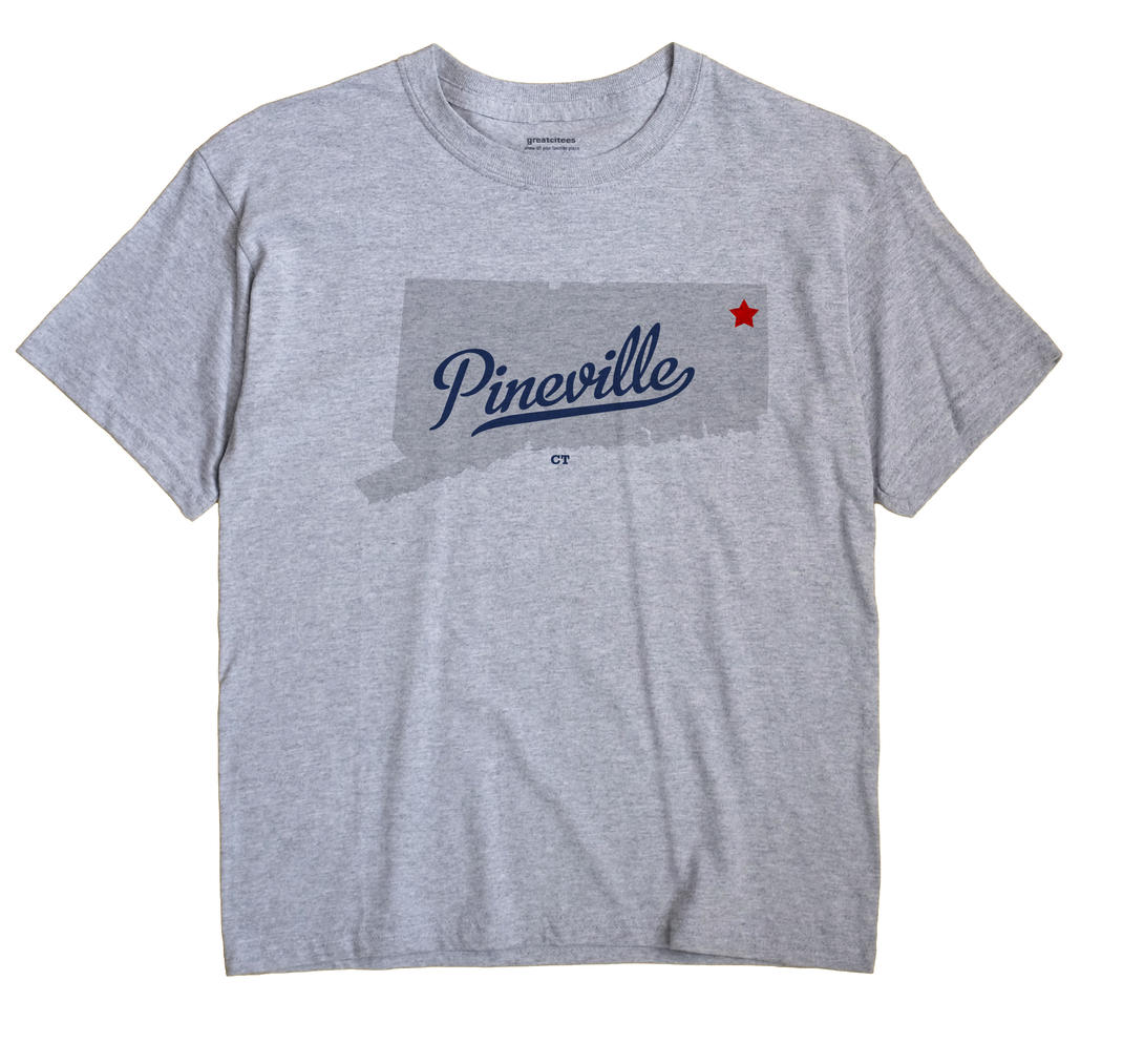 Pineville, Connecticut CT Souvenir Shirt