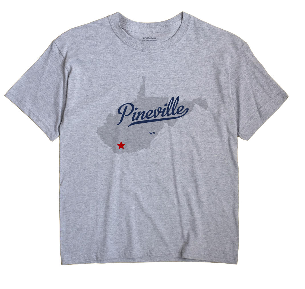 Pineville, West Virginia WV Souvenir Shirt