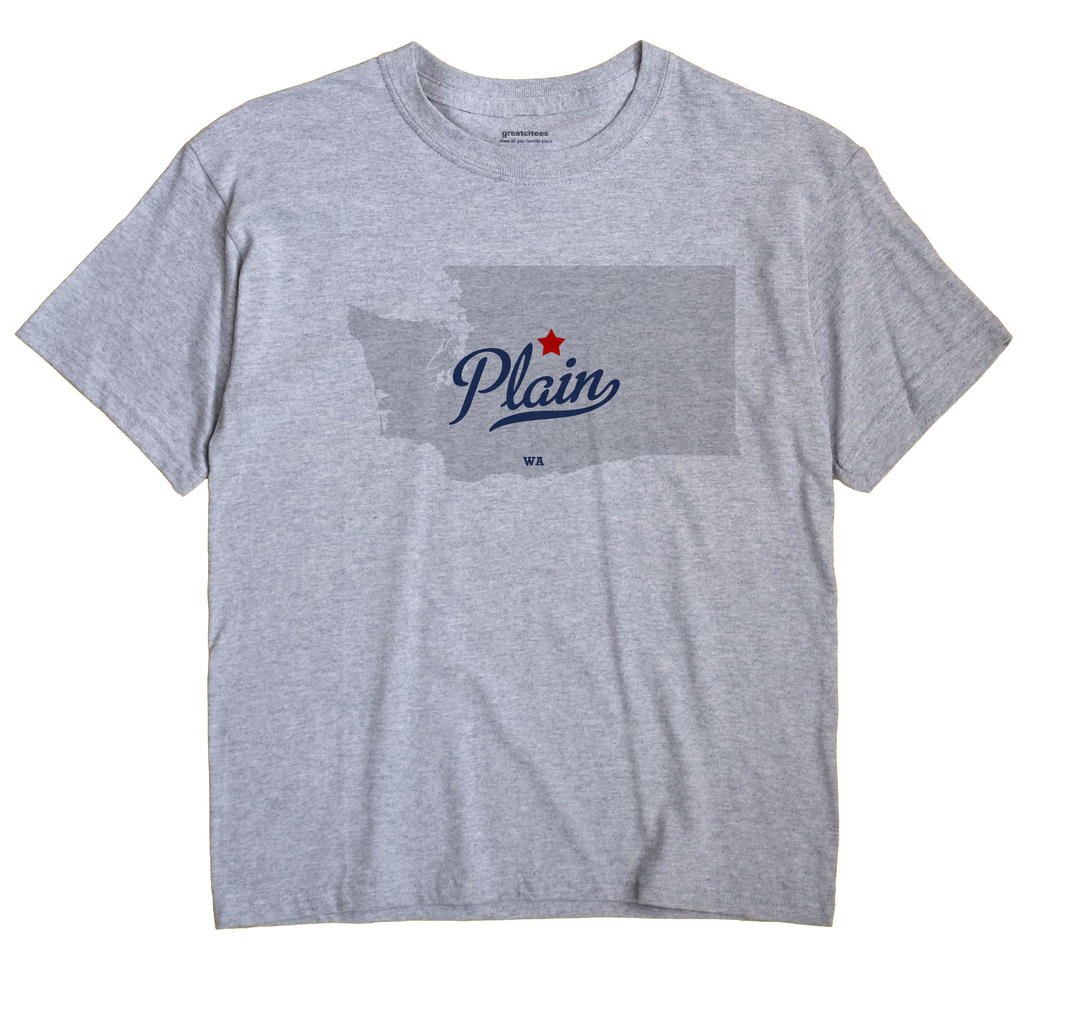 Plain, Washington WA Souvenir Shirt