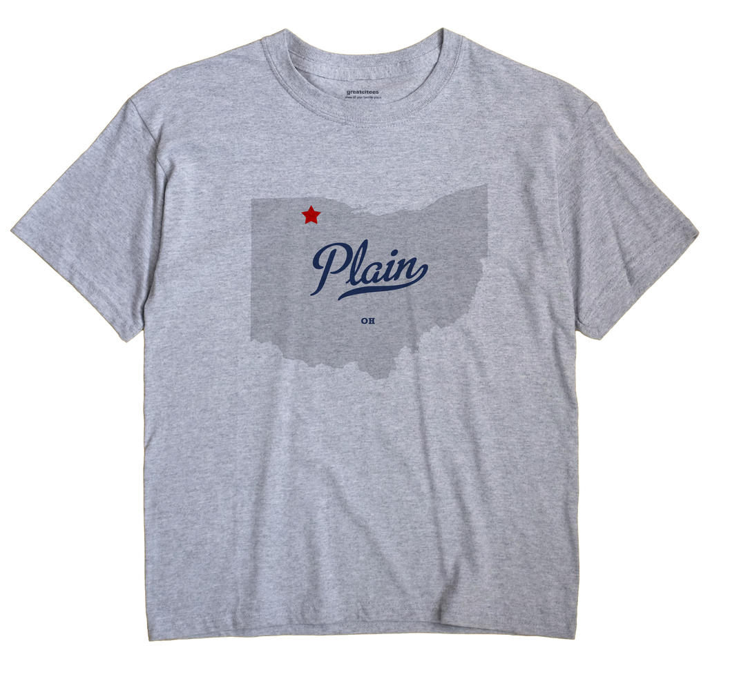 Plain, Wood County, Ohio OH Souvenir Shirt