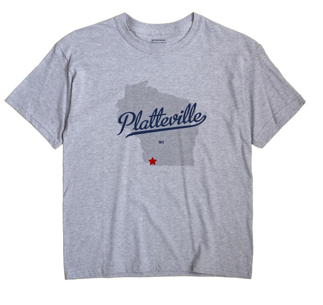 Platteville, Wisconsin WI Souvenir Shirt