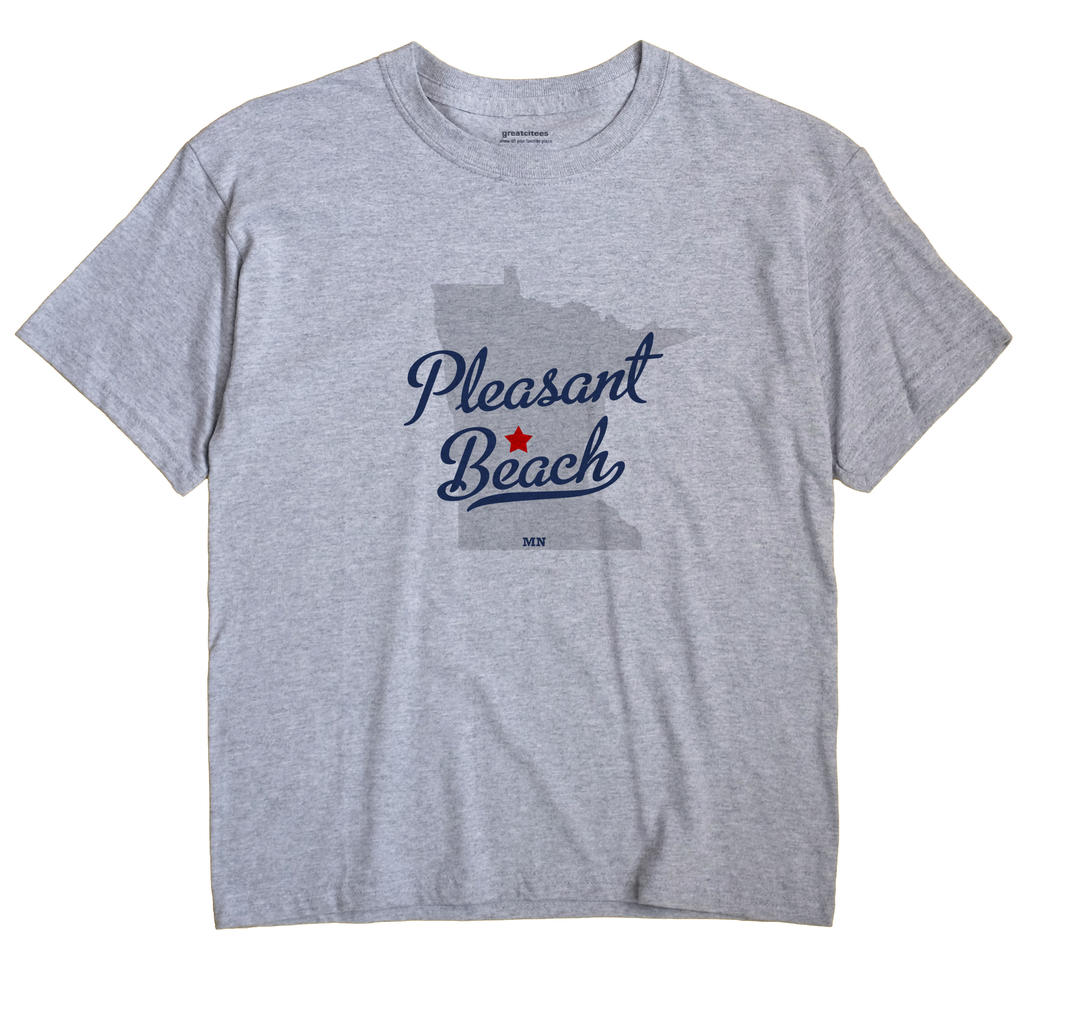 Pleasant Beach, Minnesota MN Souvenir Shirt