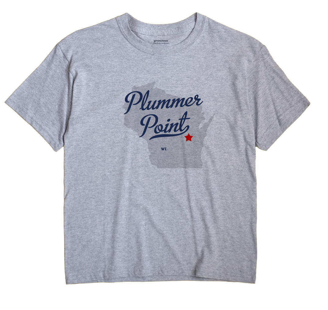 Plummer Point, Wisconsin WI Souvenir Shirt