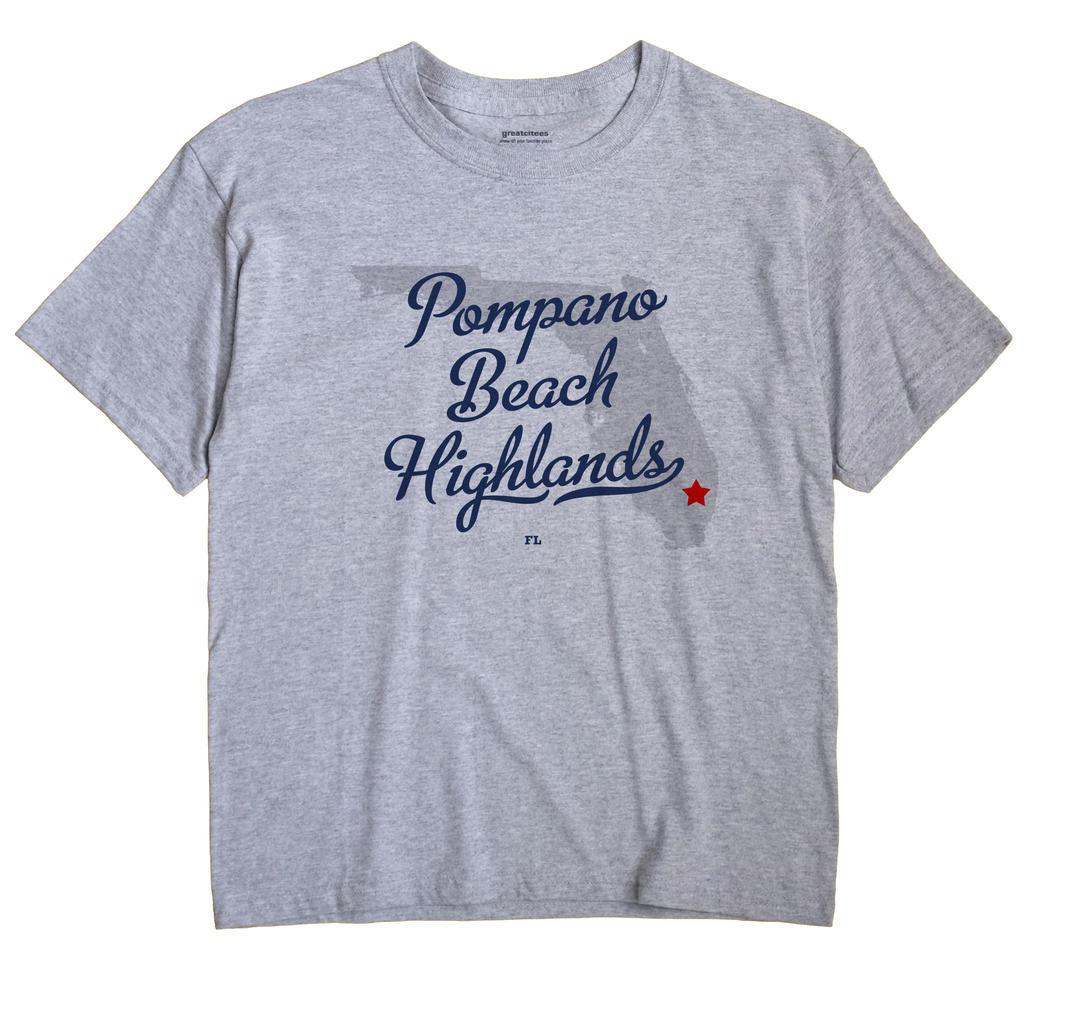 Pompano Beach Highlands, Florida FL Souvenir Shirt
