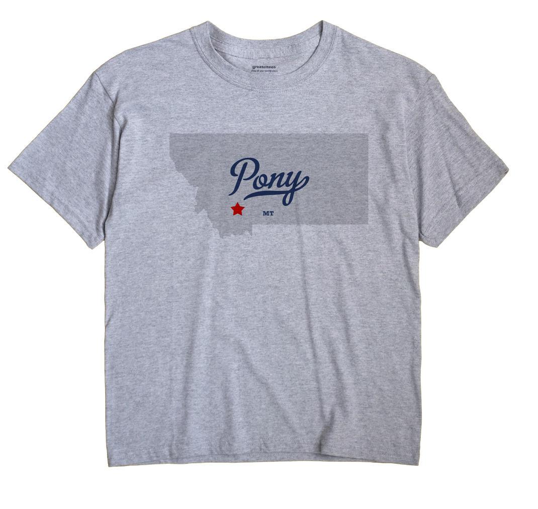 Pony, Montana MT Souvenir Shirt