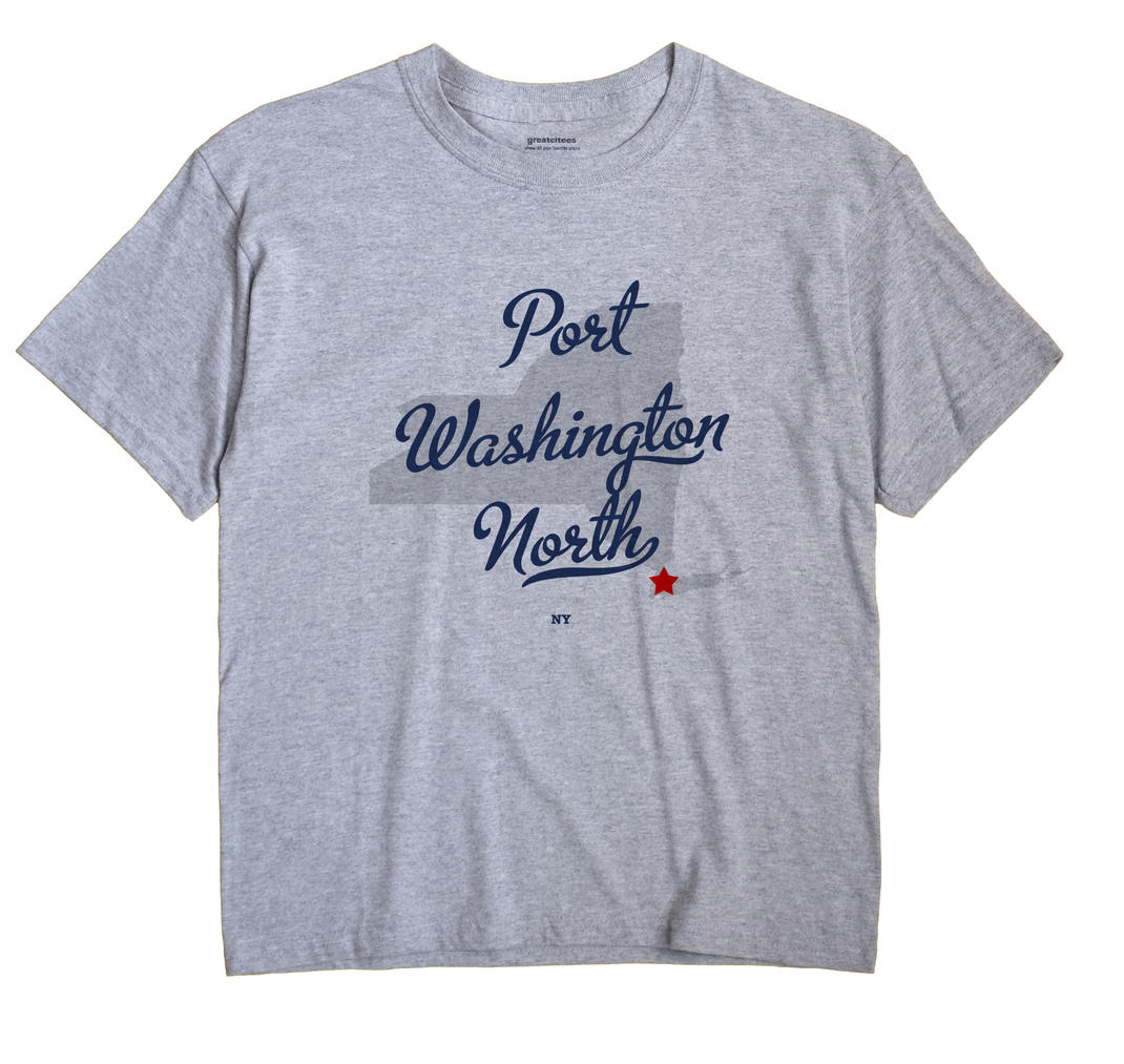 Port Washington North, New York NY Souvenir Shirt