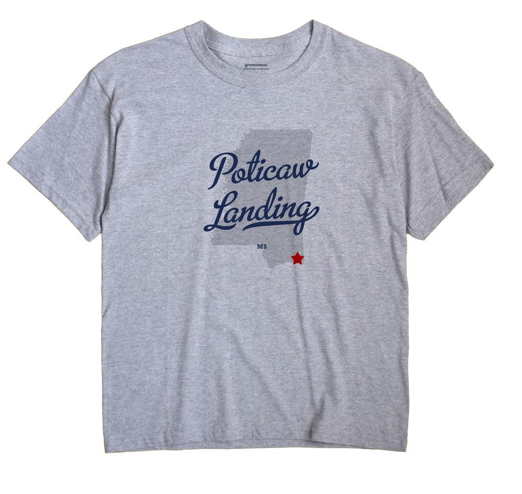 Poticaw Landing, Mississippi MS Souvenir Shirt