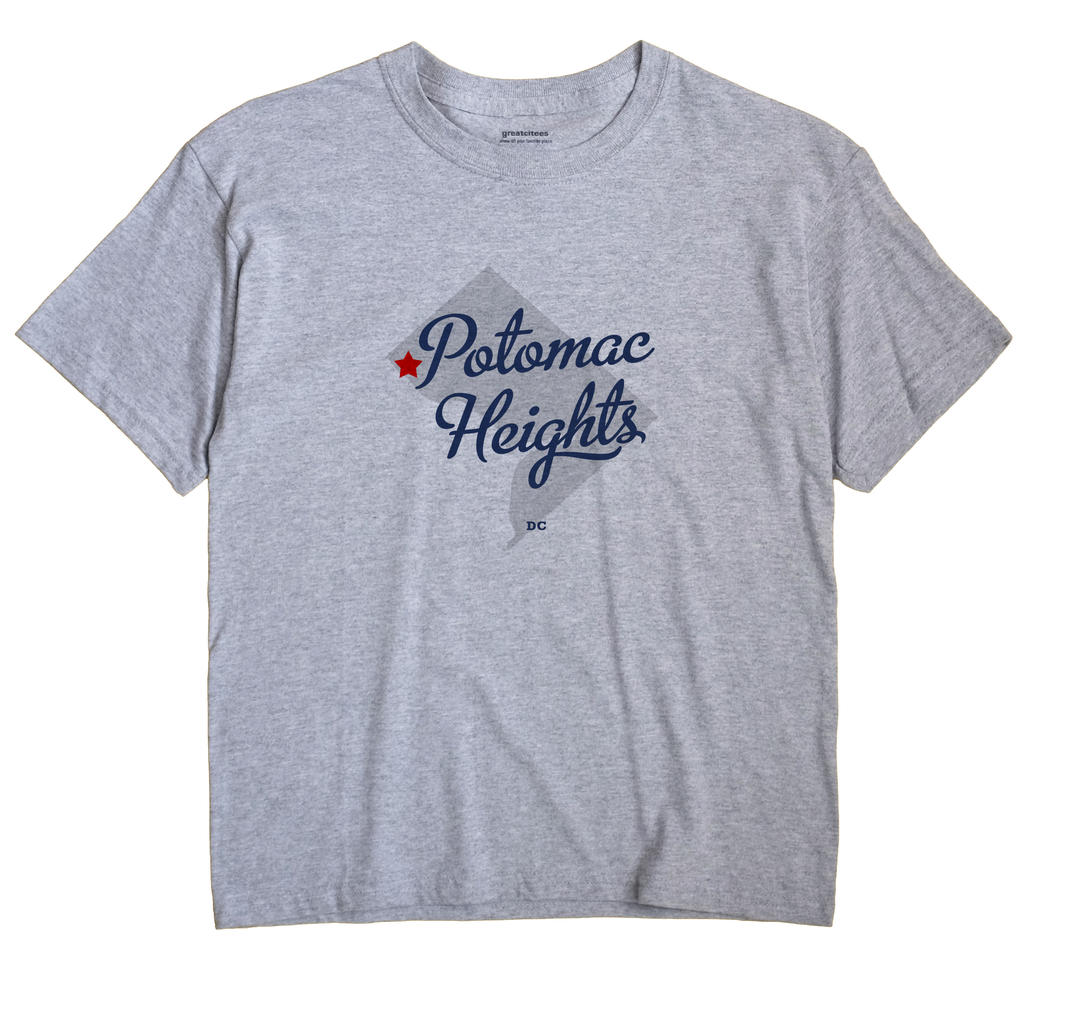 Potomac Heights, District Of Columbia DC Souvenir Shirt
