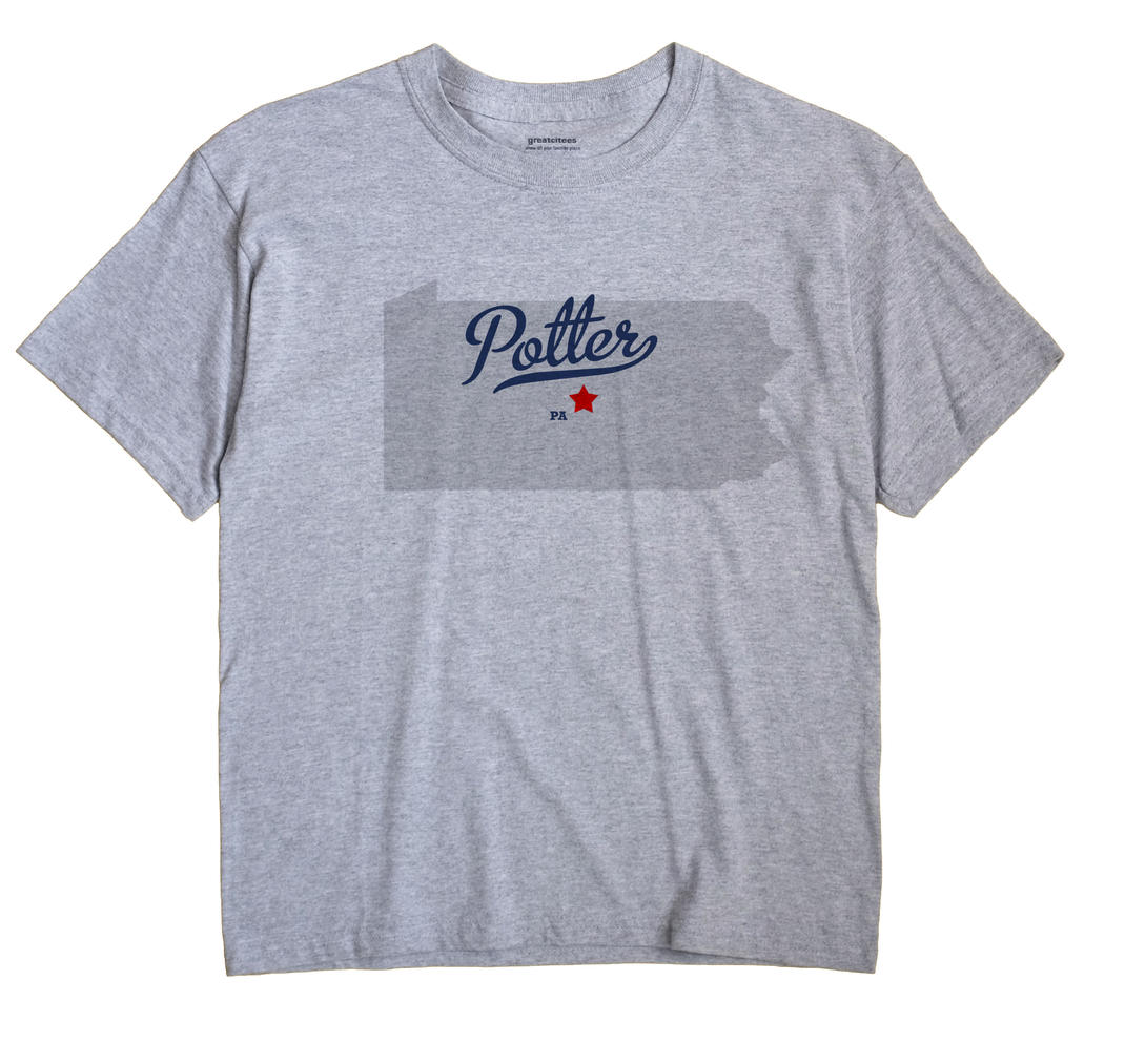 Potter, Centre County, Pennsylvania PA Souvenir Shirt
