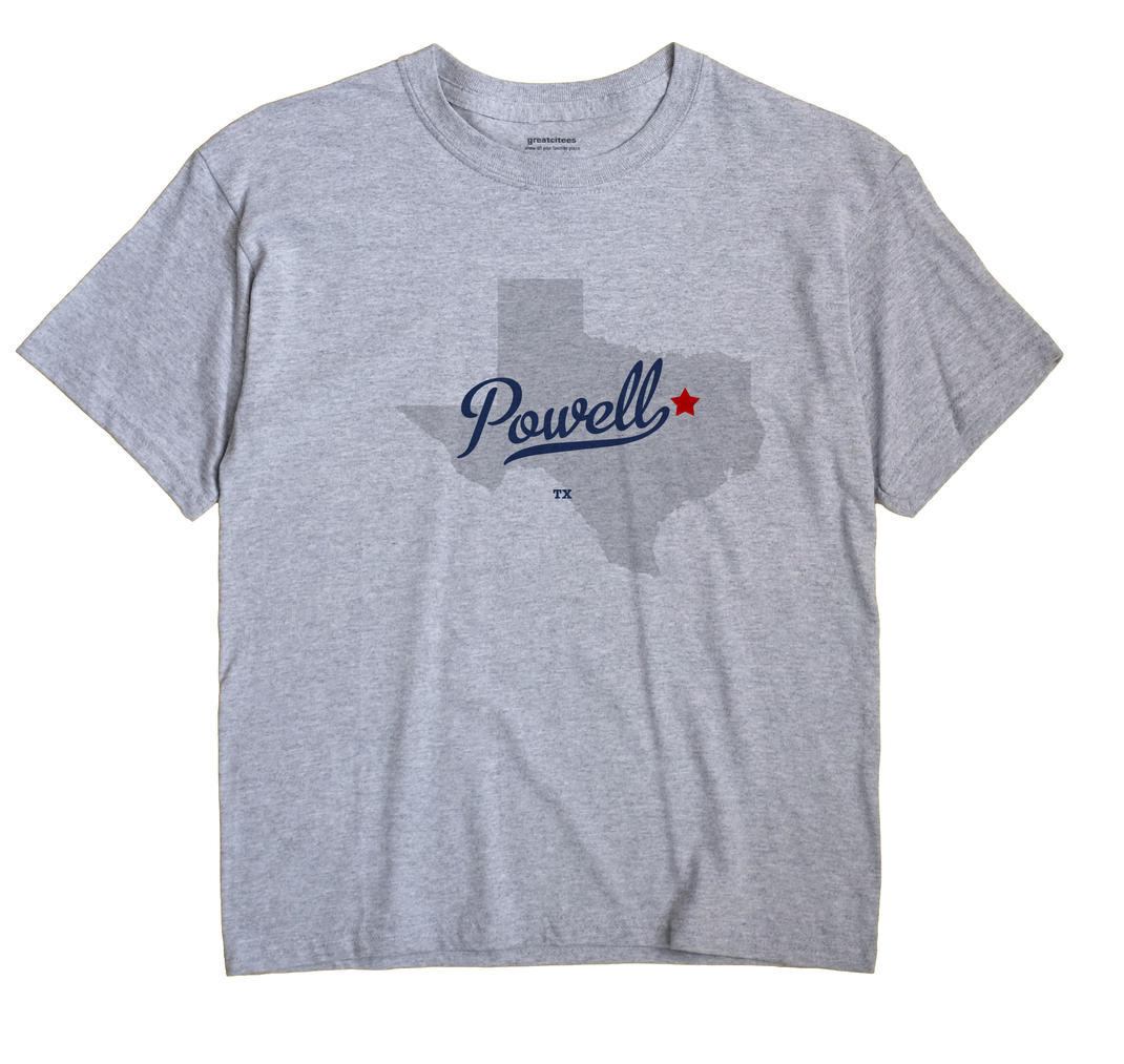 Powell, Texas TX Souvenir Shirt