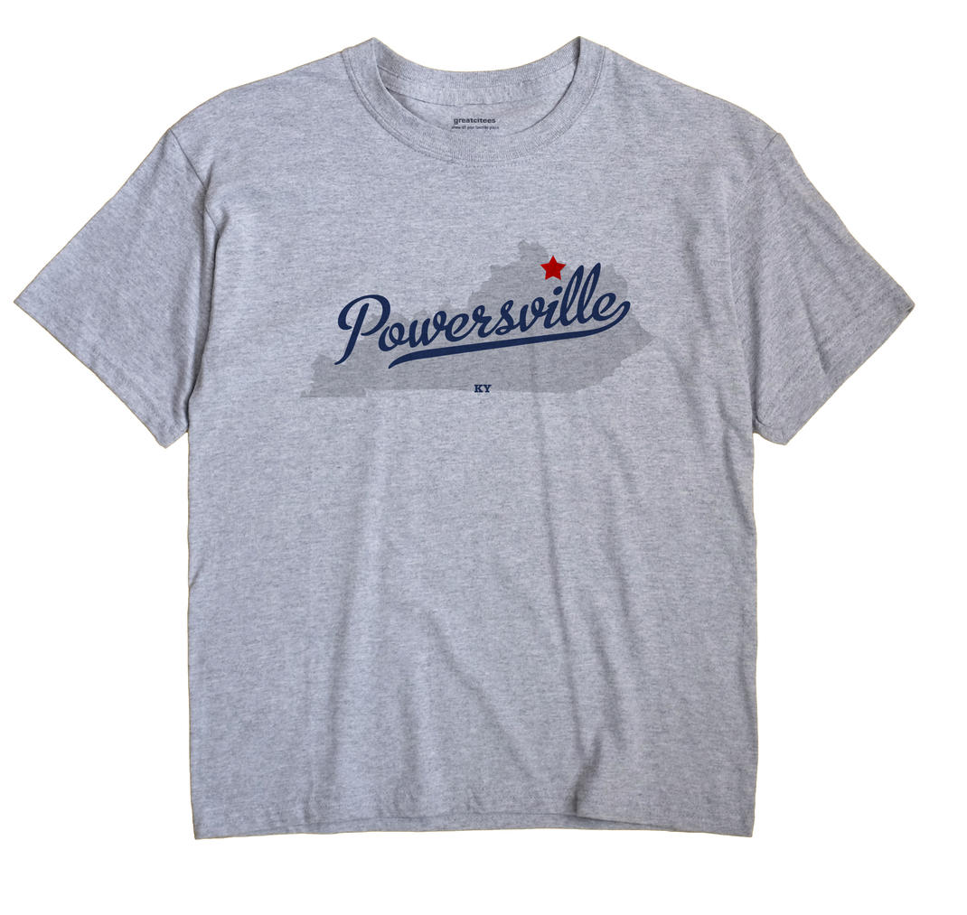 Powersville, Kentucky KY Souvenir Shirt