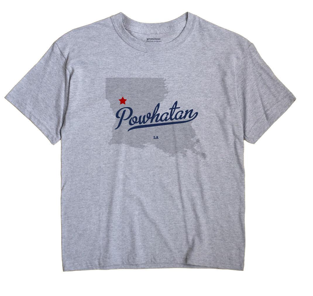 Powhatan, Louisiana LA Souvenir Shirt