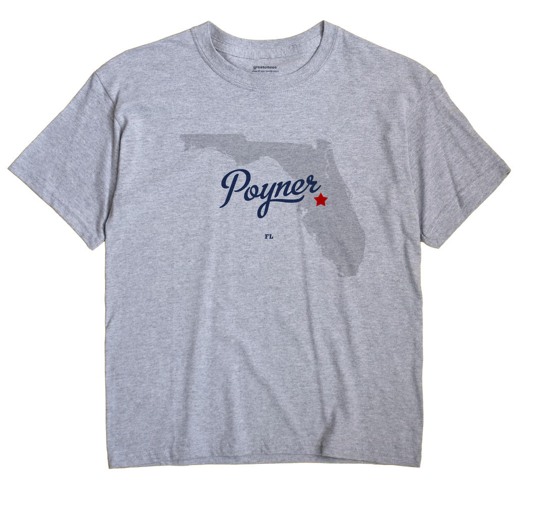 Poyner, Florida FL Souvenir Shirt