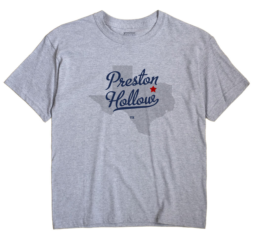 Preston Hollow, Texas TX Souvenir Shirt